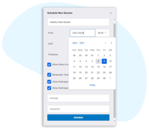one click scheduling telehealth software