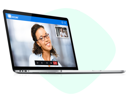 virtual background in video conference feature